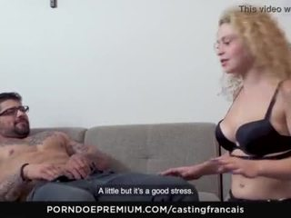Casting francais - french canadian amateur gets fucked hard in first time porn